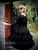 Model View (Black Ver.) blouse TP00153, petticoat UN00026