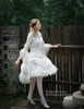 Model View (White Ver.) blouse TP00153, petticoat UN00026
