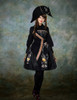 Model Show (Black Version) dress DR00191  hat P00617