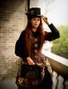 Model Show (Black Version) hat P00619 corset Y00039 skirt SP00167 pannier bloomers UN00024