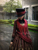 Gothic Lolita Fashion Dress Tuxedo Ball Dress*black,mint,burgundy,moon night blue