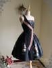 Front View (Black Ver.) (birdcage petticoat: UN00019)