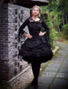 Model View (black Ver.) skirt SP00180, petticoat UN00026