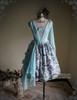 Front View (Pale Blue + Mint Blue Chiffon Ver.) (birdcage petticoat: UN00027)