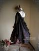 Back View (Pale Purple + Black Chiffon Ver.) (birdcage petticoat: UN00027)