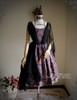 Front View (Pale Purple + Black Chiffon Ver.) (birdcage petticoat: UN00027)
