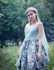 Model Show (Pale Blue + Mint Blue Chiffon Ver.) (birdcage petticoat: UN00027, leggings: P00187)