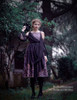 Model Show (Pale Purple + Black Chiffon Ver.) (leggings: P00182)