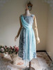 Front View w/o Skirt Piece & Sleeves (Pale Blue + Mint Blue Chiffon Ver.)