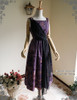 Front View w/o Skirt Piece & Sleeves (Pale Purple + Black Chiffon Ver.)
