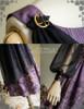 Detail View (Pale Purple + Black Chiffon Ver.)