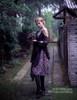 Model Show (Pale Purple + Black Chiffon Ver.)