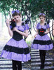 Model Show (Worn as a Brooch) (dress: DR00151N, corset: Y00027, birdcage petticoat: UN00017, leggings: P00182)