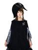 Model Show (black version) dress DR00128N Hoodie Mantle/Cape CT00266