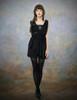 Model Show (Black Ver.) (sleeveless blouse: S01013, leggings: P00182)