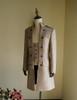 Vintage Mens Coat Short Jacket Casual Overcoat Peacoat Black Khaki