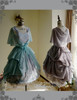 Group View (overdress: DR00201, Left: tulle petticoat from DR00196,  Right: birdcage petticoat: UN00027)