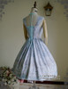 Back View (Antique Blue + Divine Grey Ver.) (grey tulle petticoat from DR00196)
