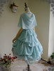 Back View (Mint Blue Ver.) (OP underneath: DR00198, tulle petticoat from DR00196)