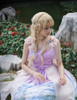 Model Show (Misty Rose + Fairy Blue + Pale Pink Chiffon Ver.) (headdress: P00626)