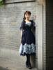 Model Show (Dark Blue + Black Ver.) (tulle petticoat underneath: UN00026)