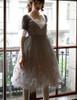 Model Show (Light Grey + White Ver.) (tulle petticoat underneath: UN00026)
