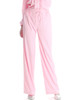 Vintage 100% Mulberry Silk Pajamas Pants Preppy Sleepwear Slack *Mint Pink