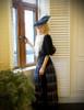 Model Show (Black + Grey Tulle Version) hat P00625 blouse TP00157