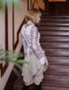 Model Show (Antique Grey Version) Vest TP00164, Blouse TP00139P
