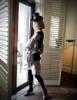 Model Show dress blouse TP00162 hat P00549N