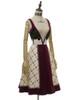 Front View (Off-White + Burgundy Ver.) (petticoat: UN00026)
