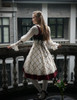 Model Show (Off-White Ver.) (JSK: DR00209, tulle petticoat: UN00026, birdcage petticoat: UN00027)