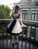 Model Show (Off-White Version) (dress DR00209 beret P00632)
