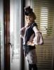Model Show (Brown Ver.) (long blouse: TP00162, vest & skirt piece set: CT00281, bloomers: SP00183)
