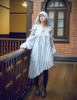 Model Show (Light Grey Version) Cutsew: TP00163, Gown DR00212