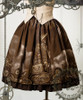 Quantity Limited! Machine Birdcage, Steampunk Birdcage Prints Skirt with Trimmings*Instant Shipping