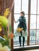 Last Chance: Gothic Half Length Sleeves Dress Vintage Flare Dress  Chiffon Lace Choker