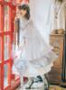 Model Show (Grey+ White Ver.) Headdress P00626, Dress DR00238