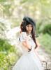 Gothic Ball Dress Vintage Jacquard A-line Dress & Shorts burgundy/white