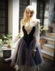 Model Show (Light Ivory Version) Bloomers UN00024N, Dress CT00288, Bag P00618