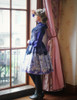 Model Show (Purple + Dark Blue Ver.) (headdress: P00626, blouse: TP00145, petticoat: UN00026, UN00027)