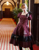 Model Show (Black Ver.) (brooch: P00627, dress: DR00224, birdcage petticoat: UN00027)