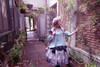 Model Show  (Mint Blue Version) Dress DR00223, Crown P00635