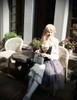 Model Show blouse TP00165,  bloomers UN00024N, bag P00618