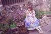 Model Show w/o Skirt Piece (Hyacinth Blue + White Ver.) (headdress: P00626)
