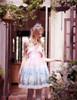 Model Show w/o Capelet & Skirt Piece (Pink + Light Beige Ver.) (headdress: P00635, petticoat: UN00026)