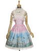 Front View w/o Capelet & Skirt Piece (Pink + Light Beige Ver.) (petticoat: UN00026, UN00027)