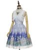 Front View w/o Capelet & Skirt Piece (Hyacinth Blue + White Ver.) (petticoat: UN00026, UN00027)