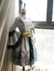 Co-ordinate Show under natural sunlight (Black + Silver Black Mixed Lace Ver.) (dress: DR00170N, petticoat: UN00026)
