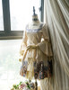 Co-ordinate Show under natural sunlight (Ivory + Gold Ivory Mixed Lace Ver.) (dress: DR00170N, petticoat: UN00026)